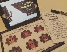 Turkey Trouble Speech Therapy Activities