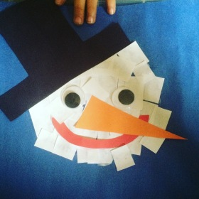 Artic Snowman for Speech Therapy