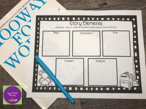 Wodney Wat Story Elements for Speech Therapy